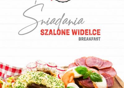 Karta śniadań