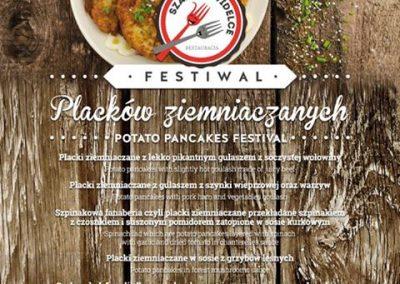 Festival of potato pancakes