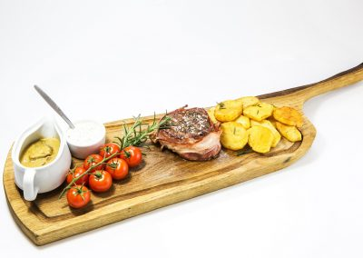 Meat from the fire - sirloin steak